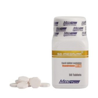 50-Megavar [Oxandrolone 50mg] - 50 Tabs - Meditech