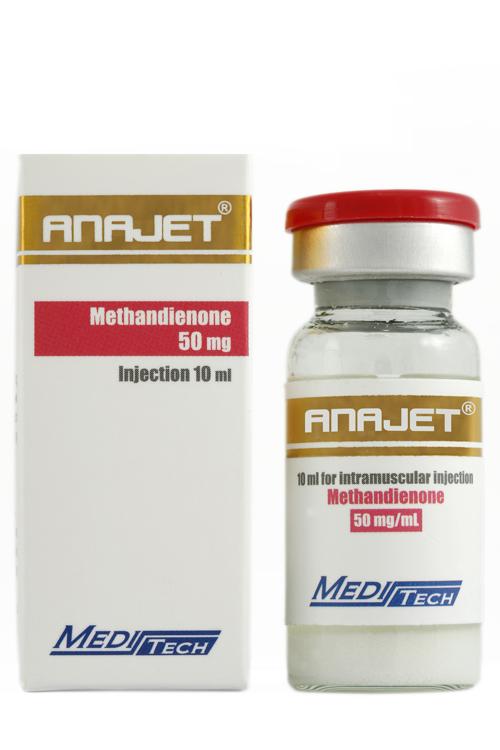 Buy Anajet [Methandrostenolone 500mg] - 10ml - Meditech