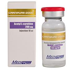 Carnipure-2000 [Acetyl L-carnitine 2000mg] - 10ml- Meditech