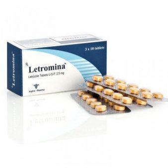 Letromina [Letrozole 2.5mg] - 30 Tabs - Alpha-Pharma