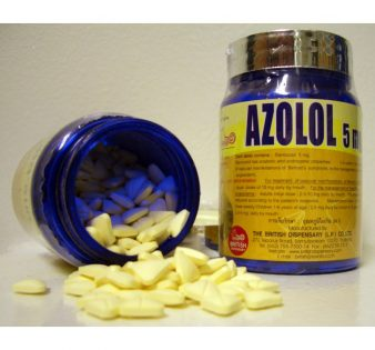Azolol [Stanozolol 5mg] - 400 Tabs - British Dispensary