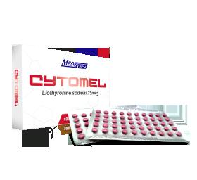 Cytomel [Liothyronine Sodium 25mcg] - 100 Tablets - Meditech