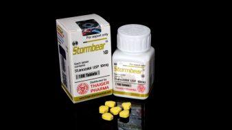 Stormbear [Stanozolol USP 10mg] - 100 Tabs - Thaiger Pharma