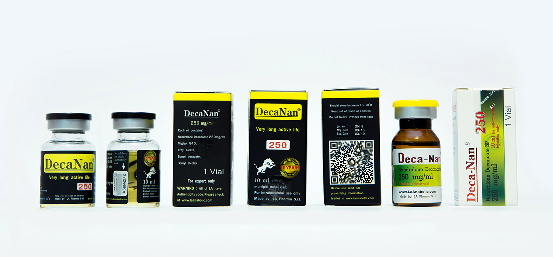 Buy DecaNan [Nandrolone Decanoate 2500mg] - 10ml - LA Pharma