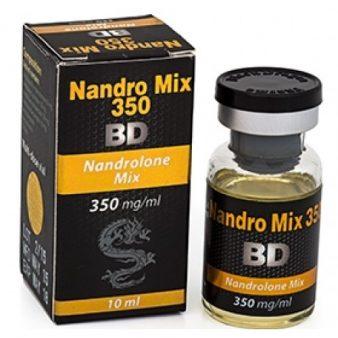 Buy Nandro Mix 350 [Nandrolone Blend 3500mg] - 10ml - Black Dragon