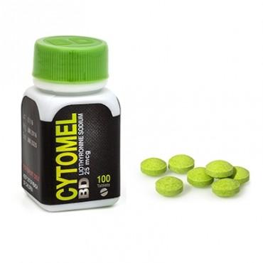 Buy Cytomel Bd Liothyronine Sodium 25mcg 100 Tabs Black Dragon