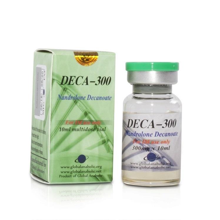Buy Deca-300 [Nandrolone Decanoate 3000mg] - 10ml - Global