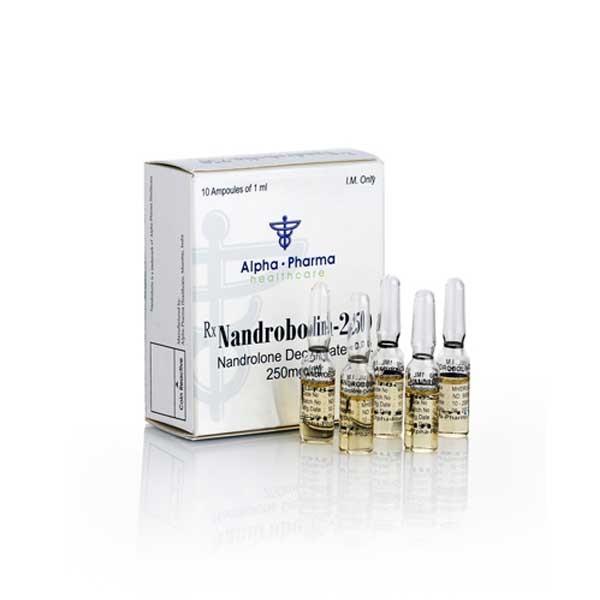 Buy Nandrobolin-250 [Nandrolone Decanoate 2500mg] - 10ml - Alpha-Pharma